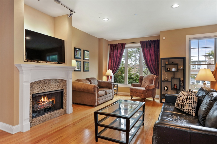Real Estate Photography - 3451 N. Whipple, n/a, Chicago, IL, 60618 - Living Room