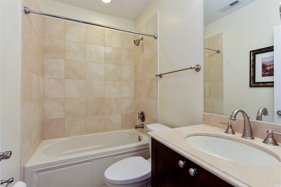 Real Estate Photography - 3451 N. Whipple, n/a, Chicago, IL, 60618 - 3rd Bathroom
