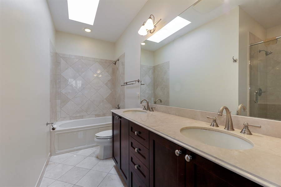 Real Estate Photography - 3451 N. Whipple, n/a, Chicago, IL, 60618 - Master Bathroom