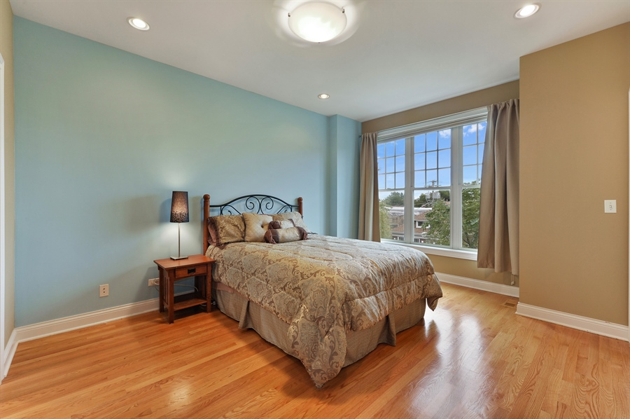 Real Estate Photography - 3451 N. Whipple, n/a, Chicago, IL, 60618 - Master Bedroom