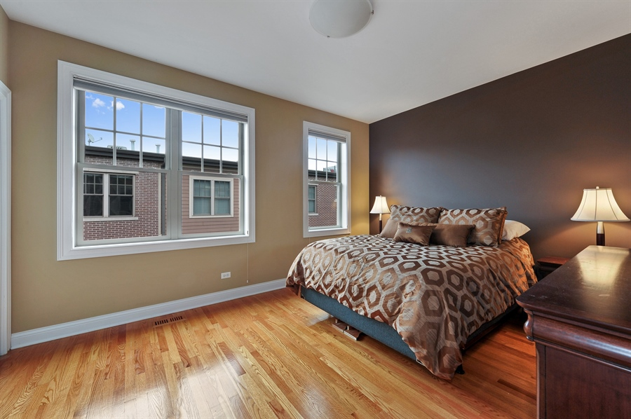 Real Estate Photography - 3451 N. Whipple, n/a, Chicago, IL, 60618 - 2nd Bedroom