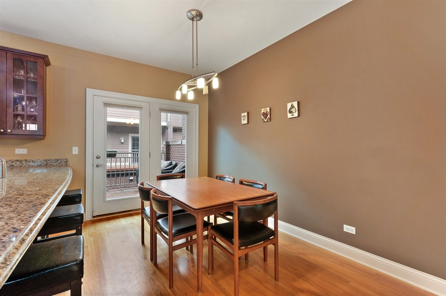 Real Estate Photography - 3451 N. Whipple, n/a, Chicago, IL, 60618 - Dining Room