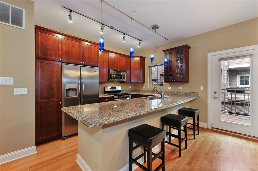 Real Estate Photography - 3451 N. Whipple, n/a, Chicago, IL, 60618 - Kitchen