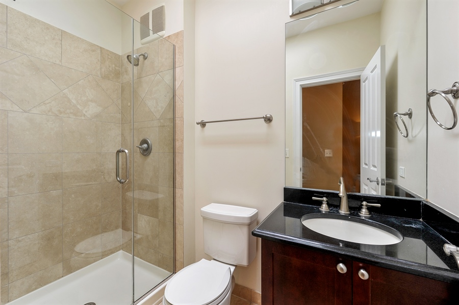 Real Estate Photography - 3451 N. Whipple, n/a, Chicago, IL, 60618 - 2nd Bathroom
