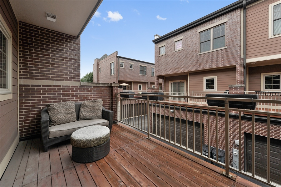Real Estate Photography - 3451 N. Whipple, n/a, Chicago, IL, 60618 - Balcony