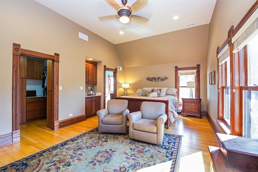 Real Estate Photography - 419 N Wheaton Ave, Wheaton, IL, 60187 - Master Bedroom