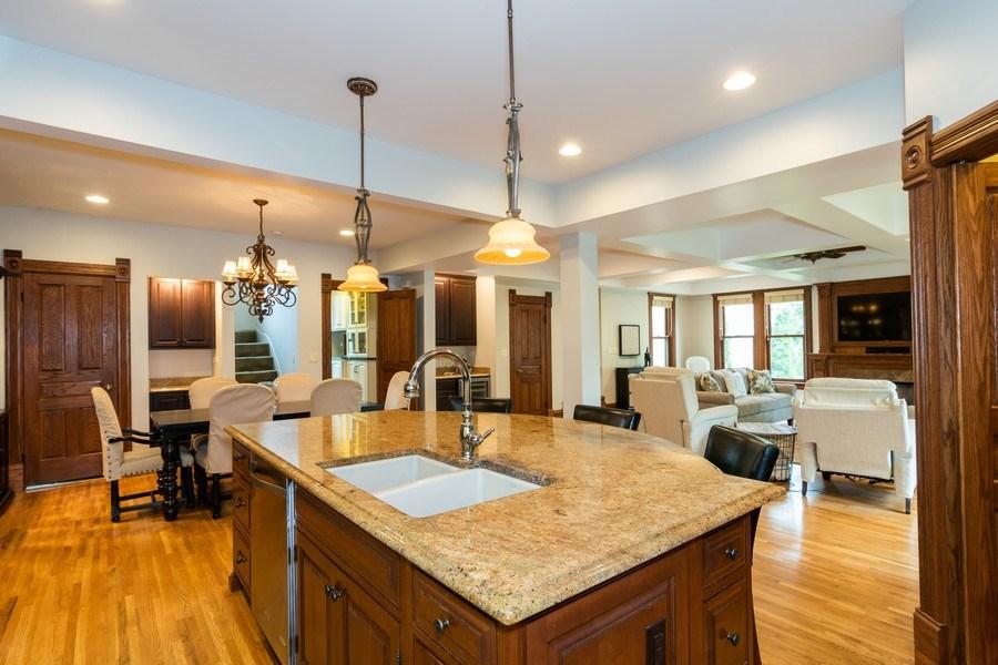 Real Estate Photography - 419 N Wheaton Ave, Wheaton, IL, 60187 - Kitchen