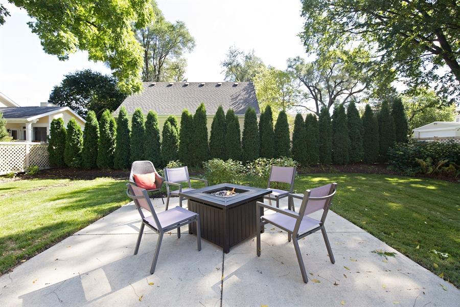 Real Estate Photography - 419 N Wheaton Ave, Wheaton, IL, 60187 - Back Yard