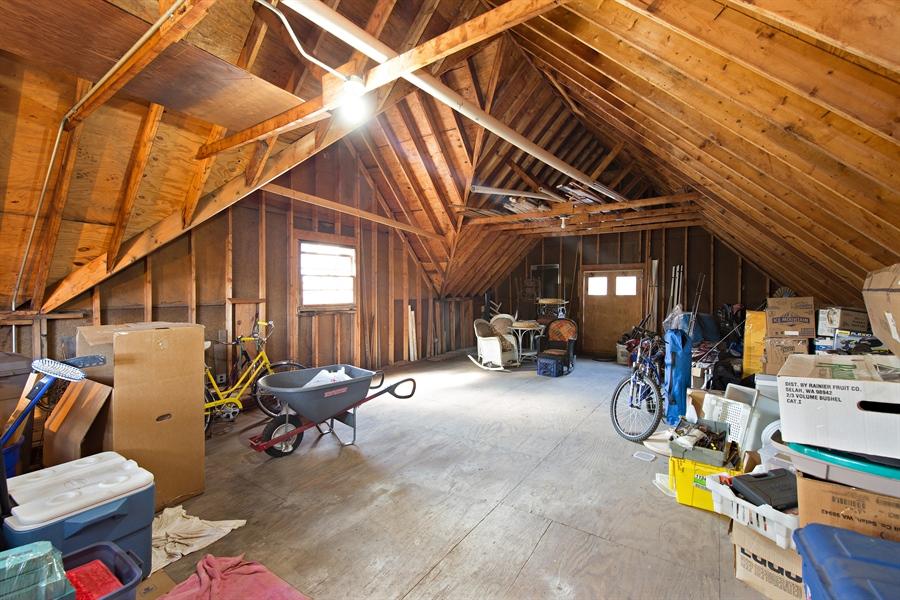 Real Estate Photography - 419 N Wheaton Ave, Wheaton, IL, 60187 - Garage/Bonus Room