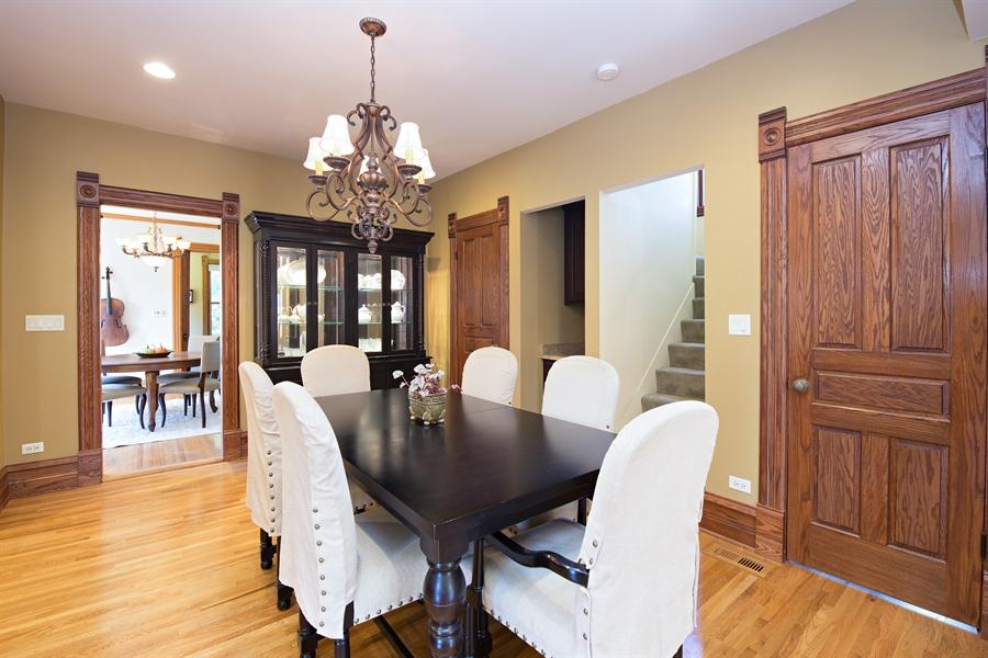 Real Estate Photography - 419 N Wheaton Ave, Wheaton, IL, 60187 - Dining Area