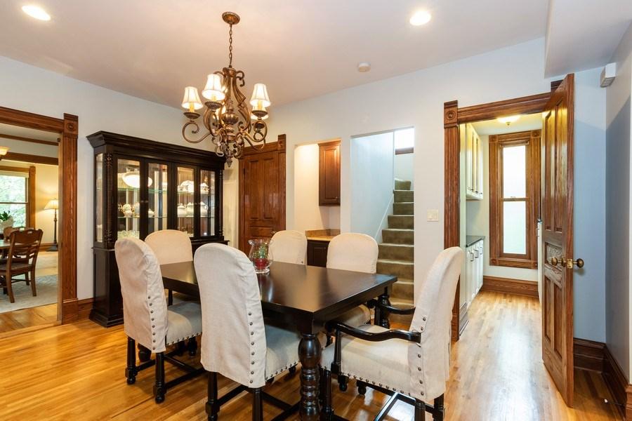 Real Estate Photography - 419 N Wheaton Ave, Wheaton, IL, 60187 - Dining Area 2