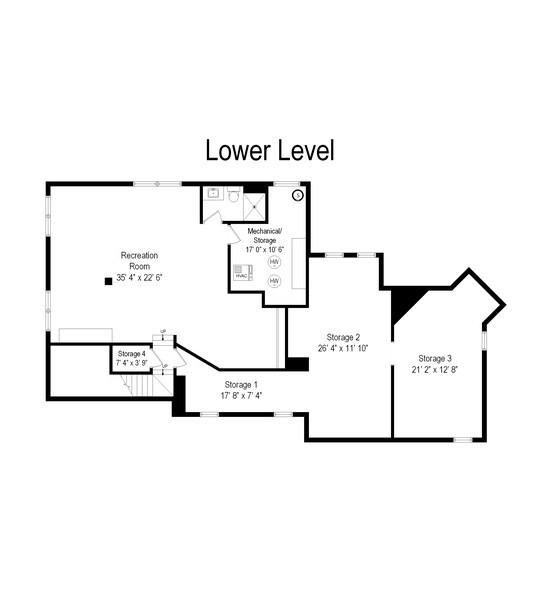 Real Estate Photography - 419 N Wheaton Ave, Wheaton, IL, 60187 - Floor Plan