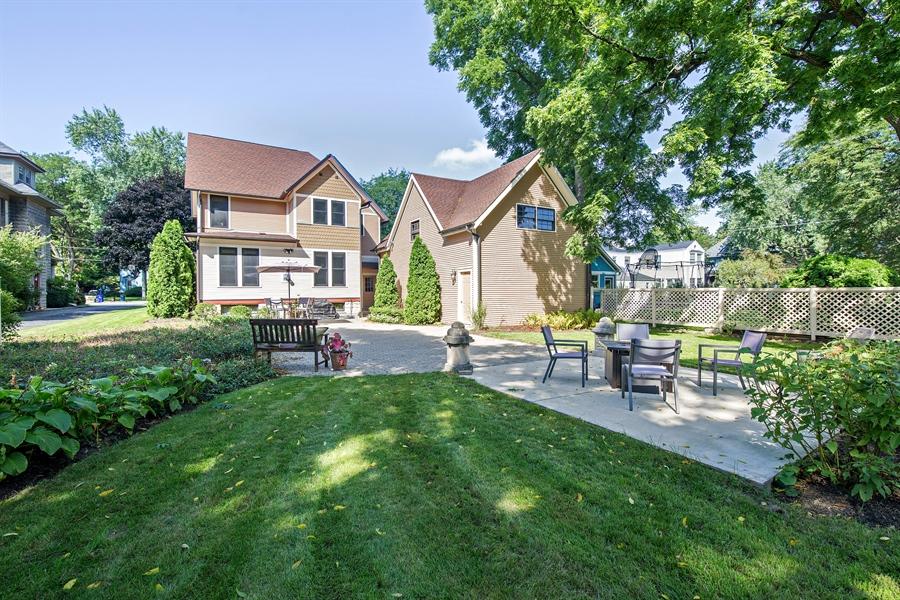 Real Estate Photography - 419 N Wheaton Ave, Wheaton, IL, 60187 - Rear View