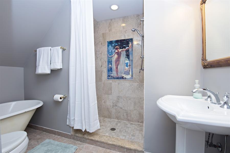 Real Estate Photography - 419 N Wheaton Ave, Wheaton, IL, 60187 - Bathroom