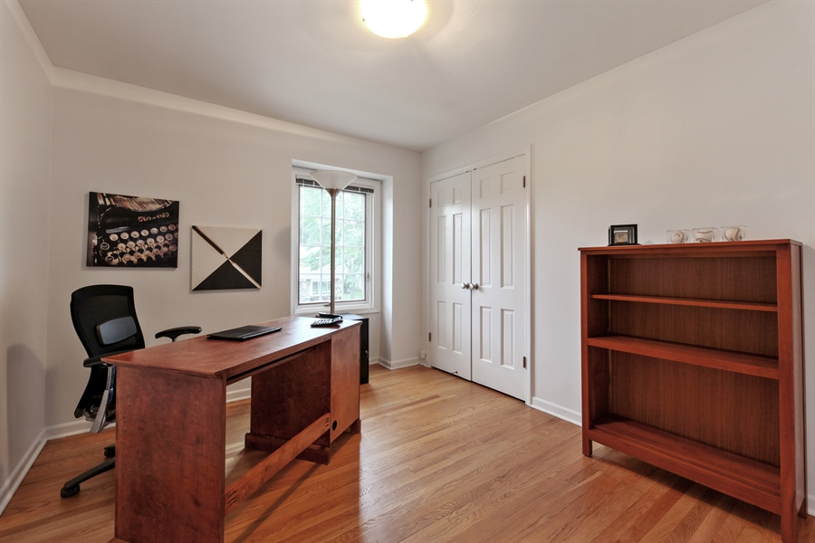 Real Estate Photography - 4025 Radcliffe Dr, Northbrook, IL, 60062 - 4th Bedroom