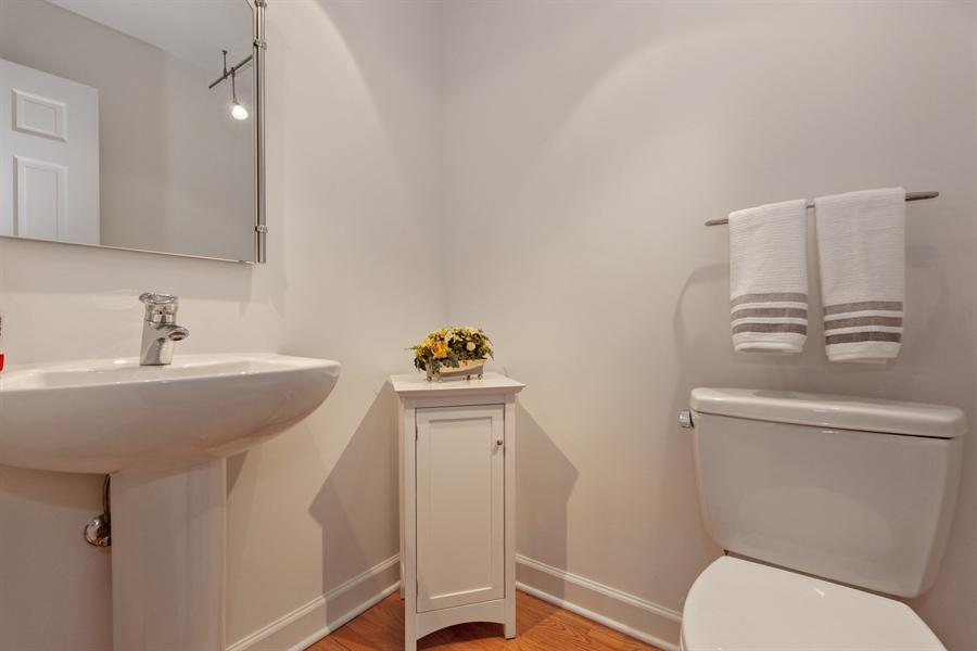 Real Estate Photography - 4025 Radcliffe Dr, Northbrook, IL, 60062 - Half Bath