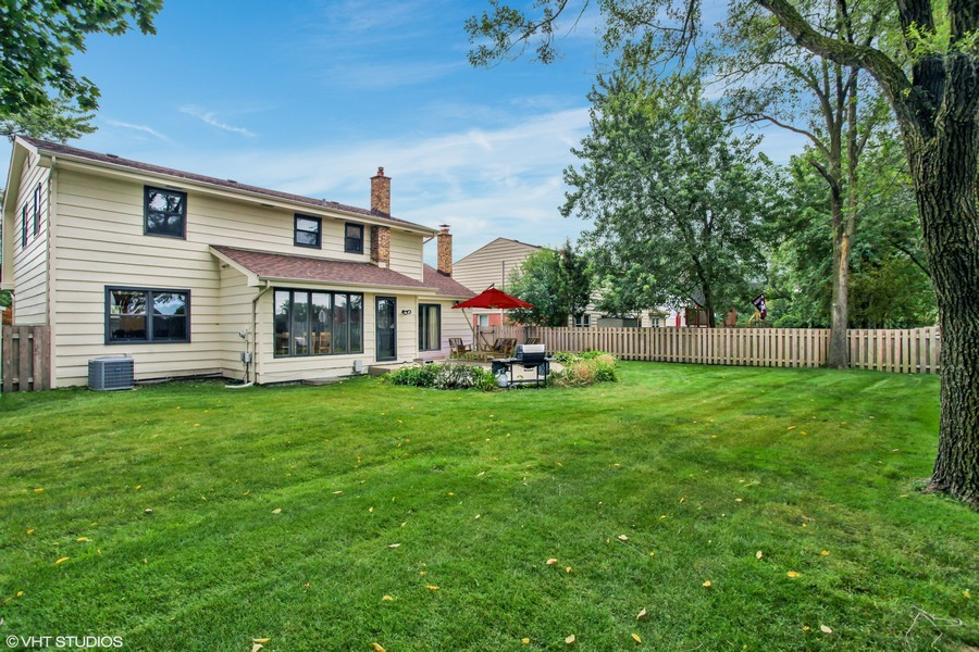 Real Estate Photography - 4025 Radcliffe Dr, Northbrook, IL, 60062 - Rear View 2