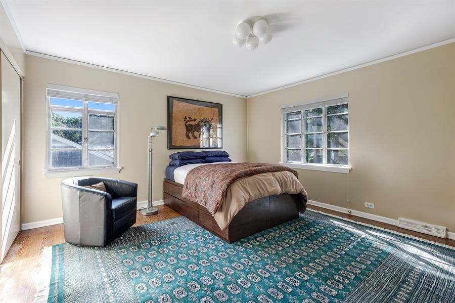 Real Estate Photography - 423 Northwood, Glencoe, IL, 60022 - Bedroom 4