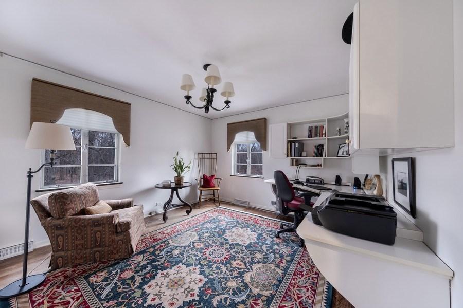 Real Estate Photography - 423 Northwood, Glencoe, IL, 60022 - 3rd Bedroom