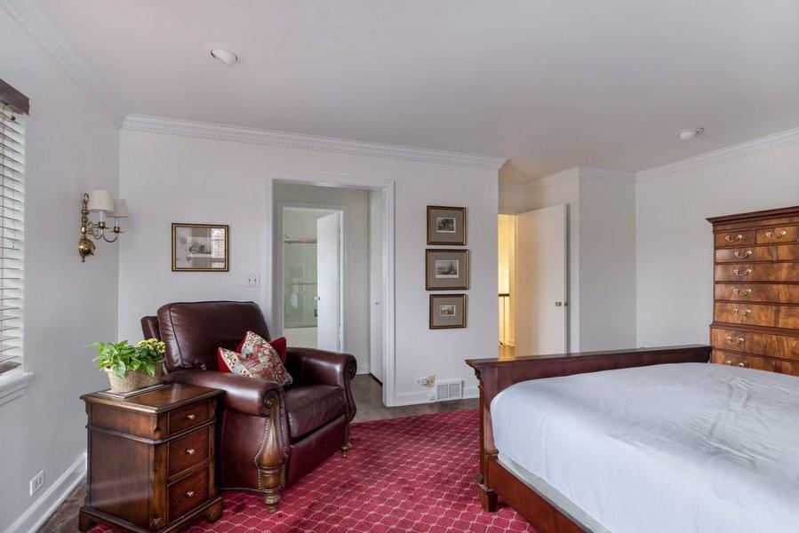 Real Estate Photography - 423 Northwood, Glencoe, IL, 60022 - Master Bedroom