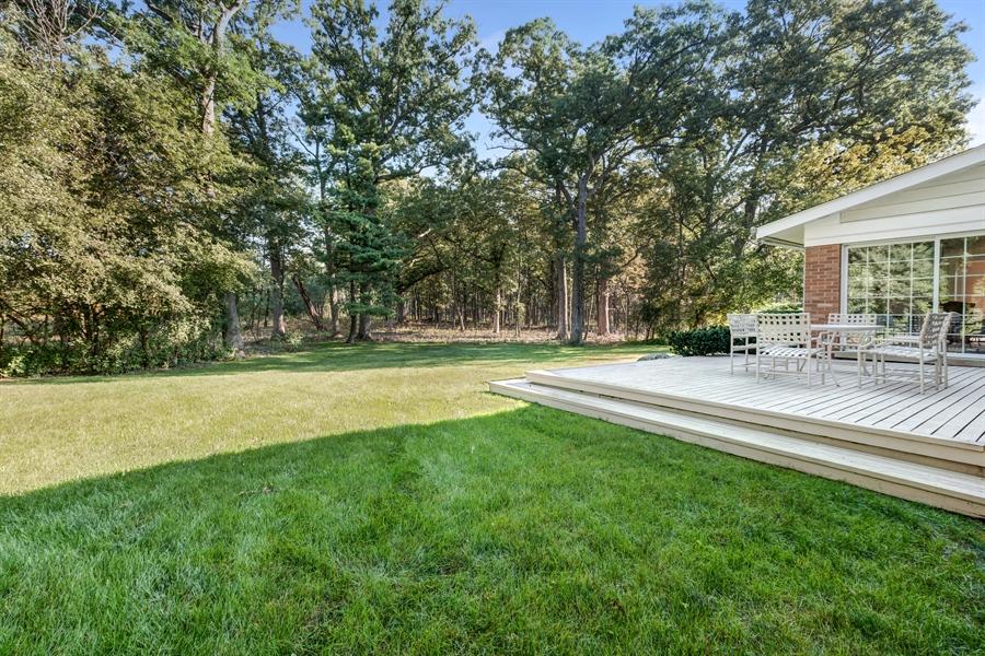 Real Estate Photography - 423 Northwood, Glencoe, IL, 60022 - Back Yard