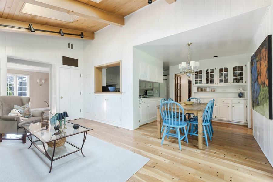 Real Estate Photography - 423 Northwood, Glencoe, IL, 60022 - Breakfast Area/Family Room 1
