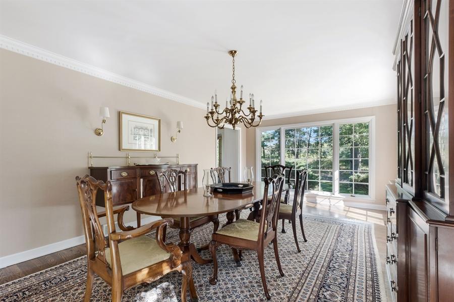 Real Estate Photography - 423 Northwood, Glencoe, IL, 60022 - Dining Room