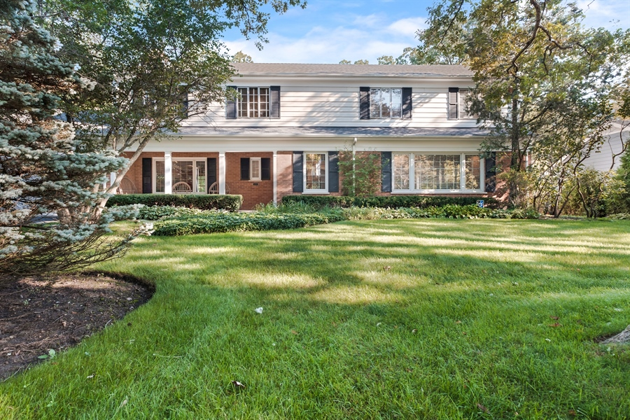 Real Estate Photography - 423 Northwood, Glencoe, IL, 60022 - Front View