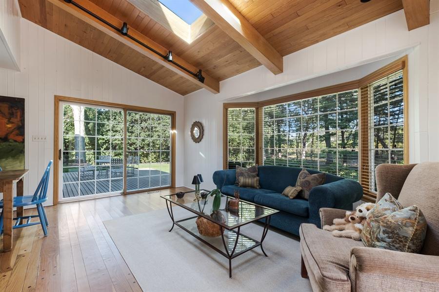 Real Estate Photography - 423 Northwood, Glencoe, IL, 60022 - Family Room 1