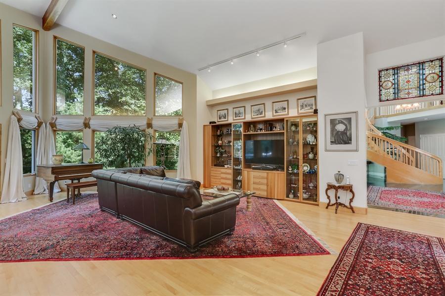 Real Estate Photography - 4950 Cynthia Drive, Bridgman, MI, 49106 - Living Room