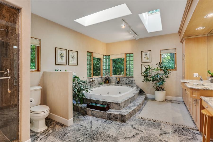 Real Estate Photography - 4950 Cynthia Drive, Bridgman, MI, 49106 - Master Bathroom