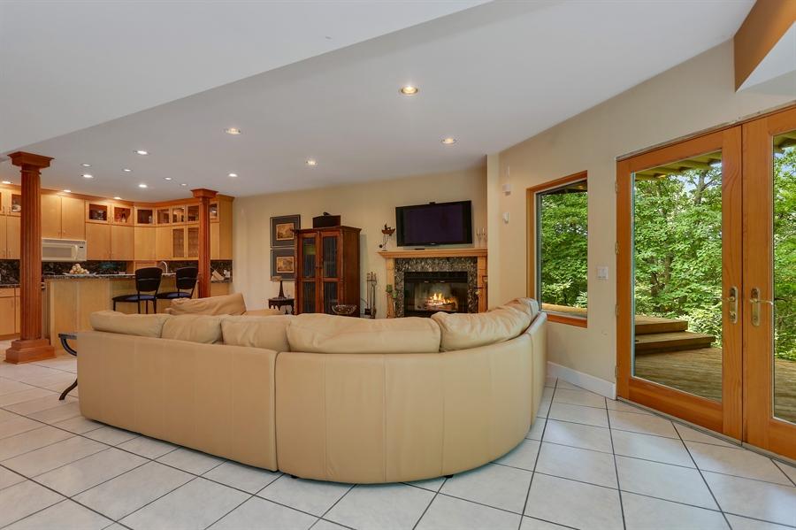Real Estate Photography - 4950 Cynthia Drive, Bridgman, MI, 49106 - Family Room