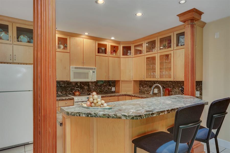 Real Estate Photography - 4950 Cynthia Drive, Bridgman, MI, 49106 - Family Room full kitchen