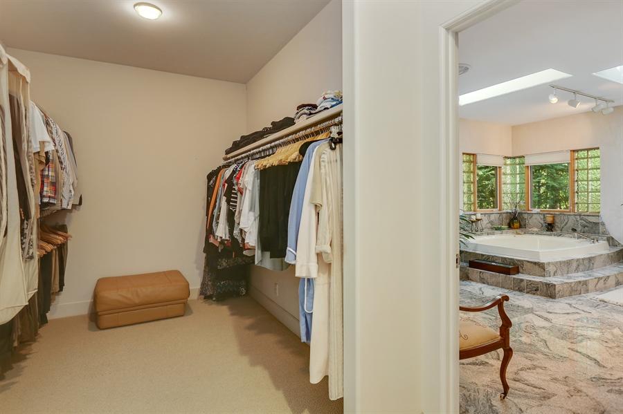 Real Estate Photography - 4950 Cynthia Drive, Bridgman, MI, 49106 - Master Bedroom Closet