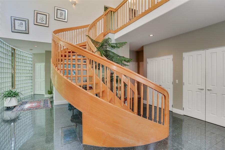 Real Estate Photography - 4950 Cynthia Drive, Bridgman, MI, 49106 - Staircase