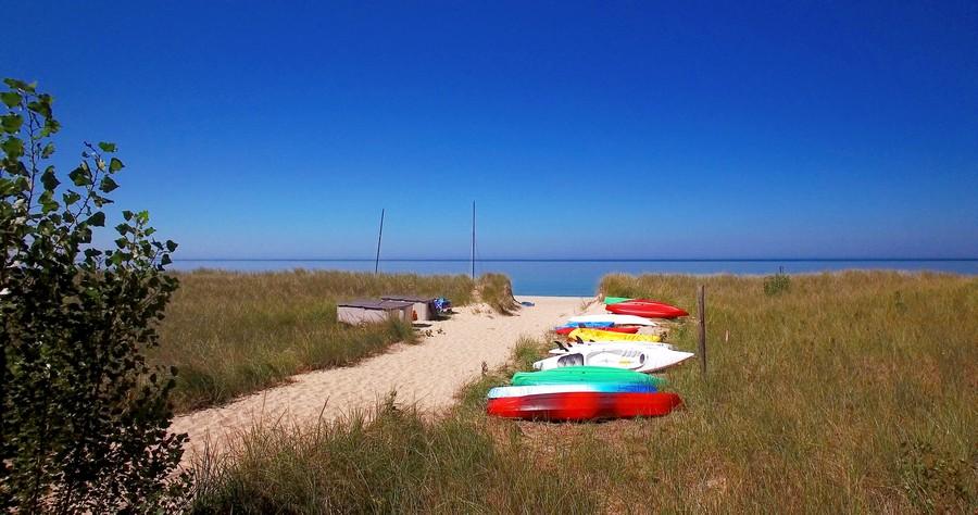 Real Estate Photography - 4950 Cynthia Drive, Bridgman, MI, 49106 - Beach Path