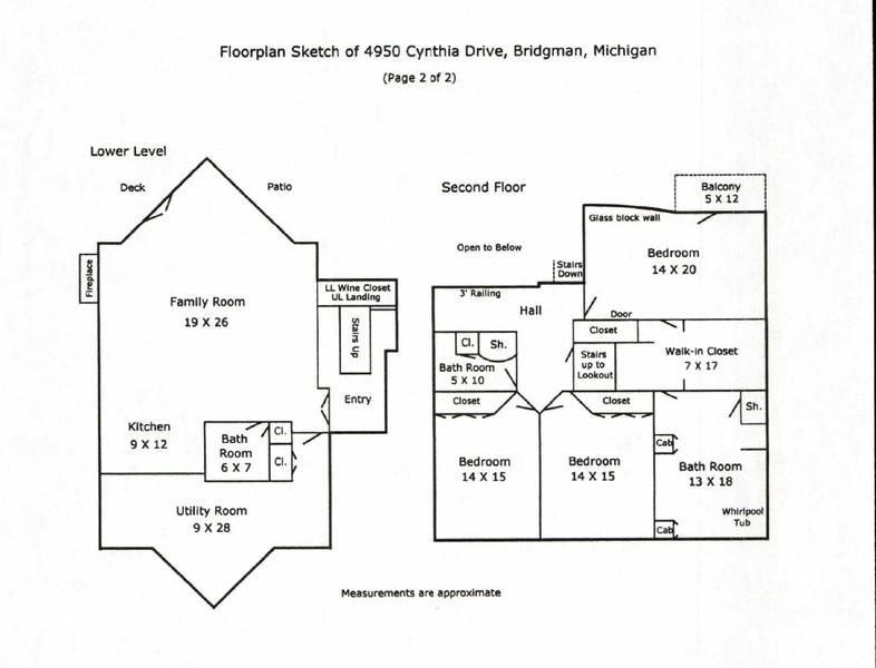Real Estate Photography - 4950 Cynthia Drive, Bridgman, MI, 49106 -