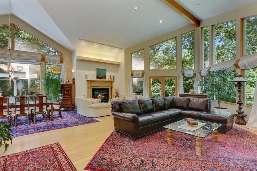 Real Estate Photography - 4950 Cynthia Drive, Bridgman, MI, 49106 - Living Room / Dining Room