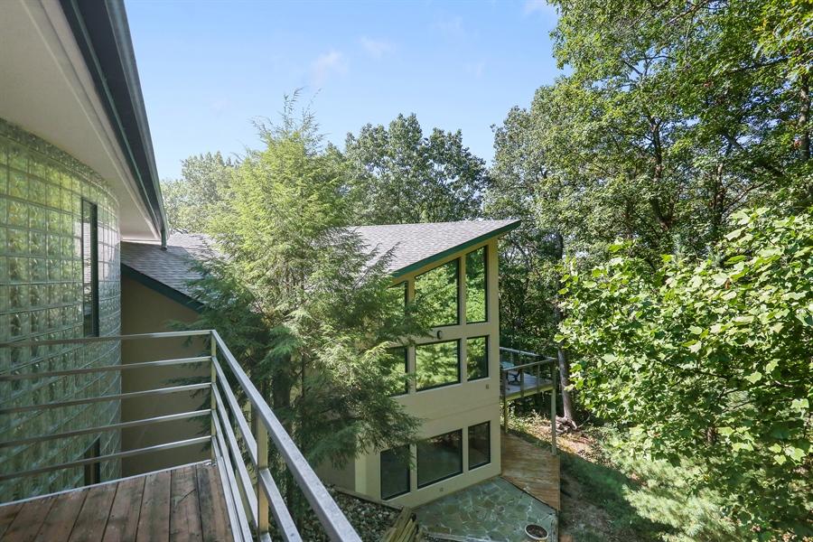 Real Estate Photography - 4950 Cynthia Drive, Bridgman, MI, 49106 - Balcony of Master Bedroom
