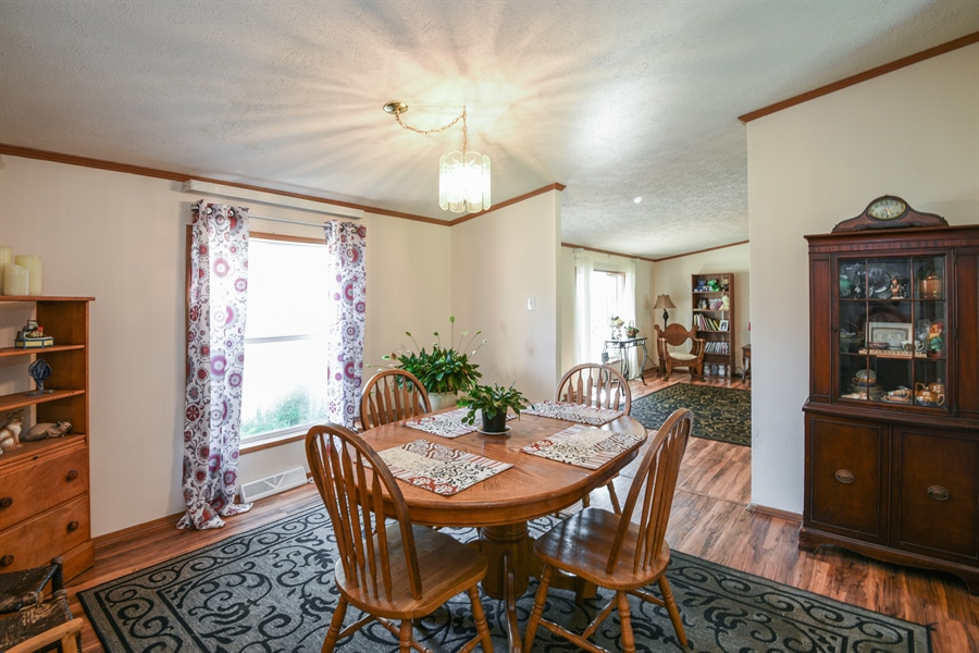 Real Estate Photography - 2175 w. Hinchman, Baroda, MI, 49101 - Dining Room