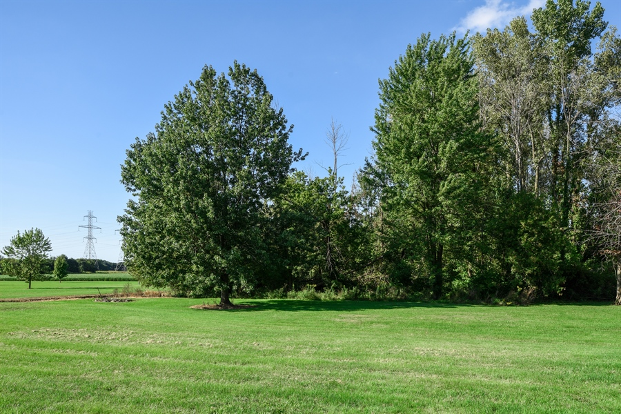 Real Estate Photography - 2175 w. Hinchman, Baroda, MI, 49101 - Back Yard
