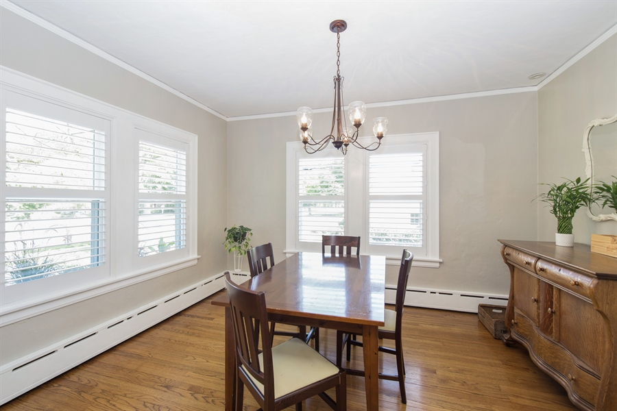 Real Estate Photography - 196 E. St Charles, Elmhurst, IL, 60126 - Dining Room