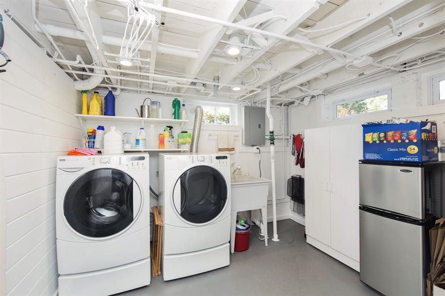 Real Estate Photography - 196 E. St Charles, Elmhurst, IL, 60126 - Laundry Room