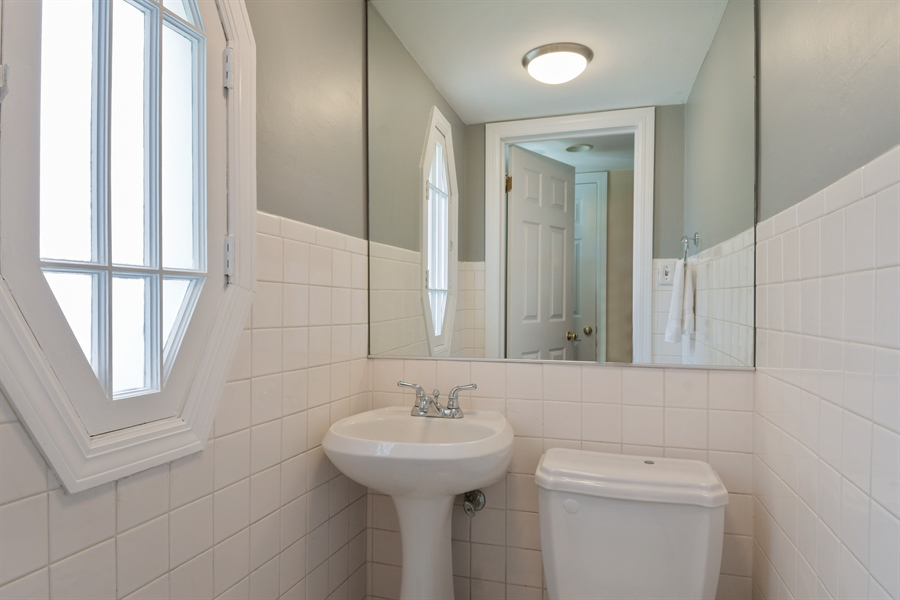 Real Estate Photography - 507 N Douglas Ave, Arlington Heights, IL, 60004 - Powder Room
