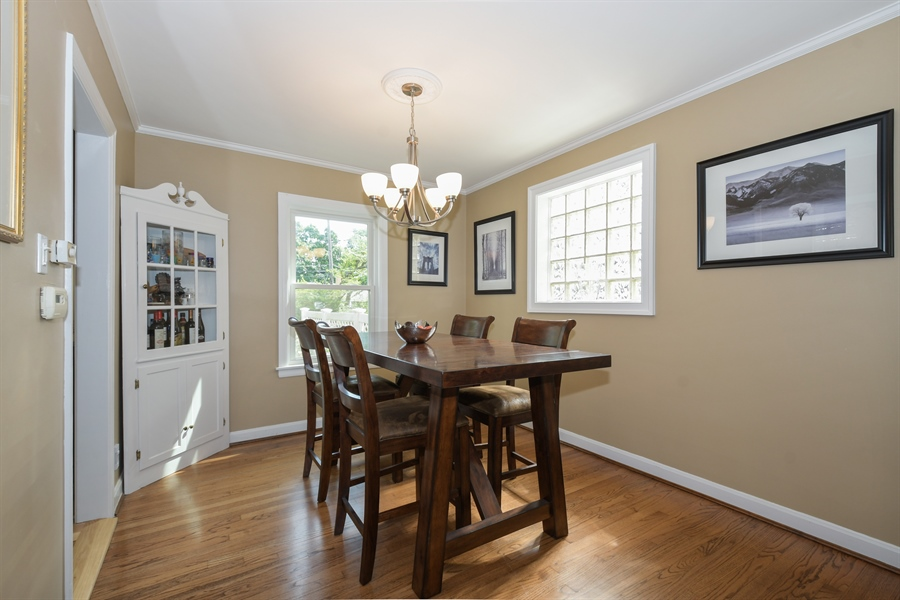 Real Estate Photography - 507 N Douglas Ave, Arlington Heights, IL, 60004 - Dining Room