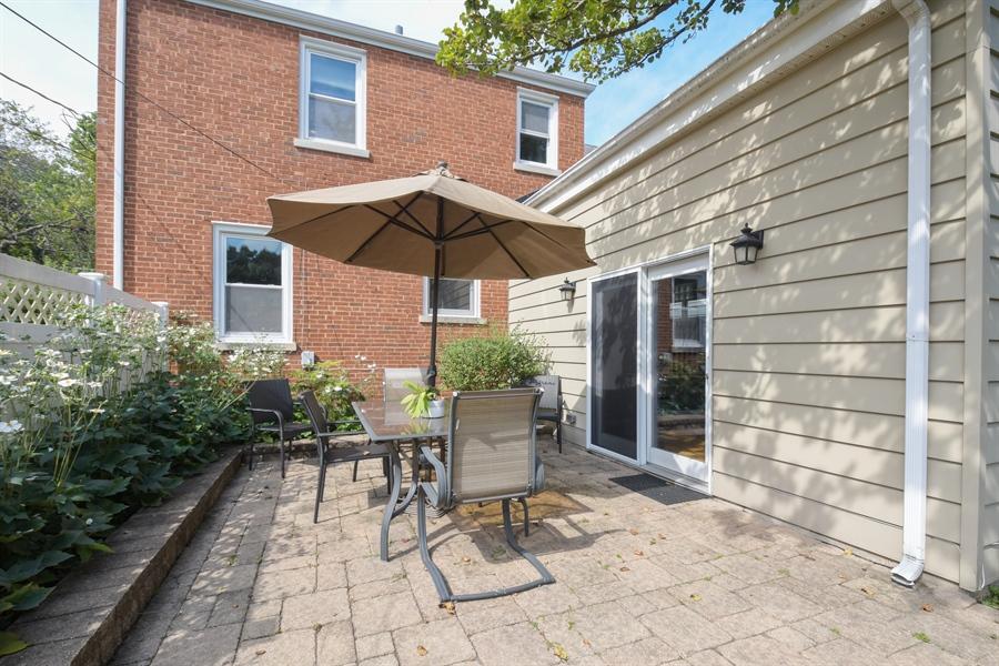 Real Estate Photography - 507 N Douglas Ave, Arlington Heights, IL, 60004 - Patio