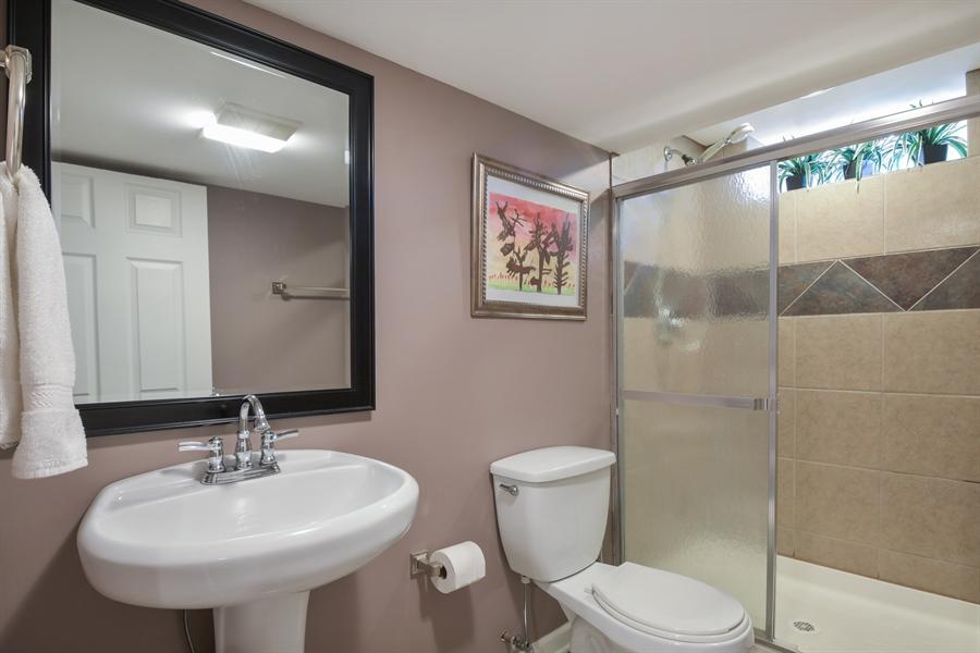 Real Estate Photography - 507 N Douglas Ave, Arlington Heights, IL, 60004 - 2nd Bathroom