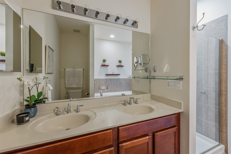 Real Estate Photography - 2314 W Wolfram, Chicago, IL, 60618 - Master Bathroom