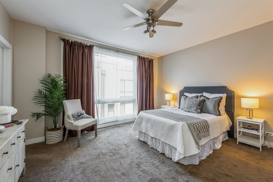 Real Estate Photography - 2314 W Wolfram, Chicago, IL, 60618 - Master Bedroom