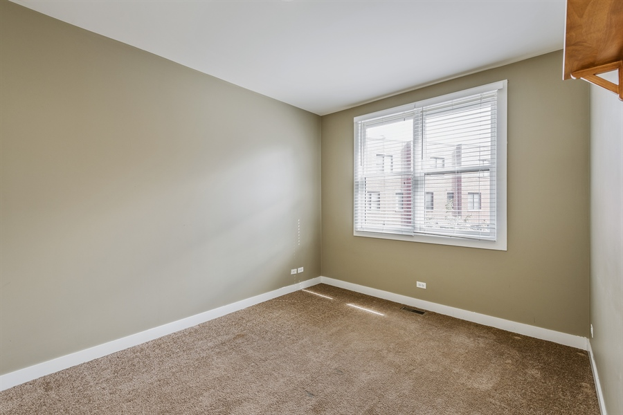 Real Estate Photography - 2314 W Wolfram, Chicago, IL, 60618 - 2nd Bedroom